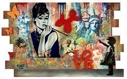 Holly by Uri Dushy -  sized 53x32 inches. Available from Whitewall Galleries
